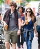 Emma Roberts & Evan Peters Get Iced Coffees In New York
