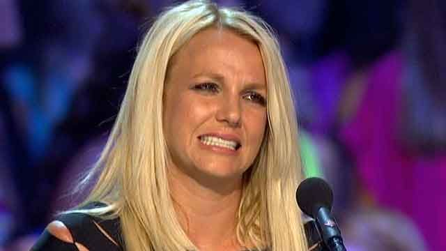 "Britney Spears Paranoid that ""X-Factor"" Execs are Plotting to Kick her off the Show!"