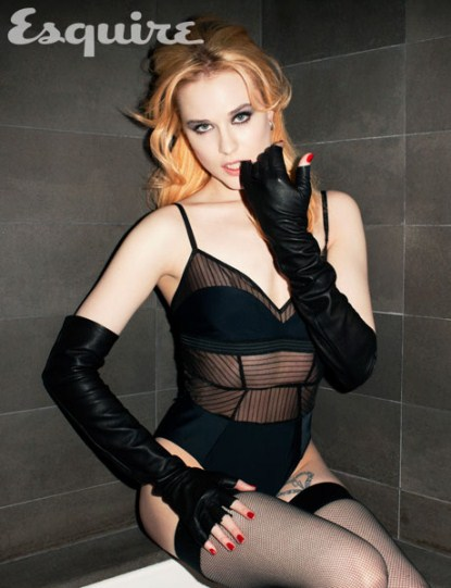 True Blood's Evan Rachel Wood The 'Man' In The Relationship?
