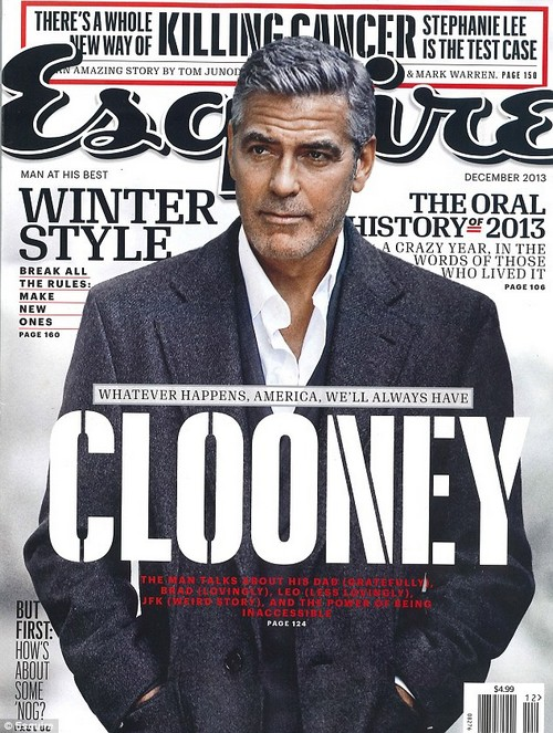 George Clooney At His Bitchiest: Attacks Russell Crowe and Reignites Feud