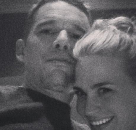 Ethan Hawke's Wife Ryan Fears Cheating Affair With New Costar January Jones