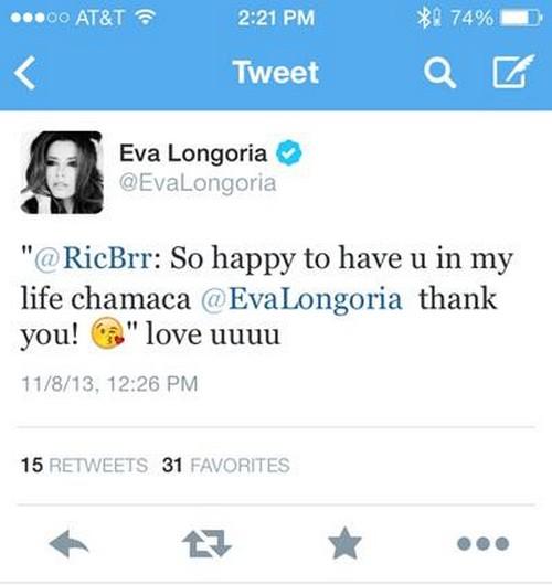 Eva Longoria Secret PDA Boyfriend Revealed: It's Ricardo Barroso NOT Eduardo Cruz - CDL Exclusive