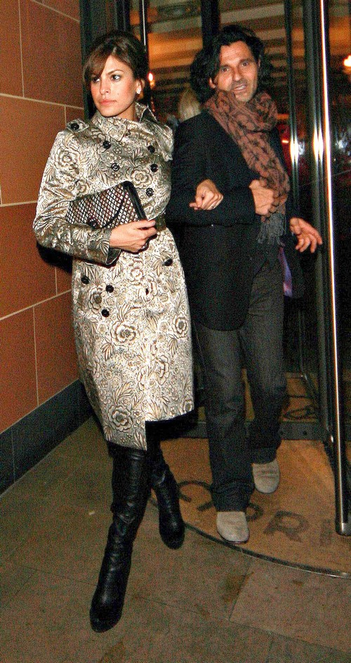 Eva Mendes Cheating On Ryan Gosling With Peruvian Filmmaker George Augusto