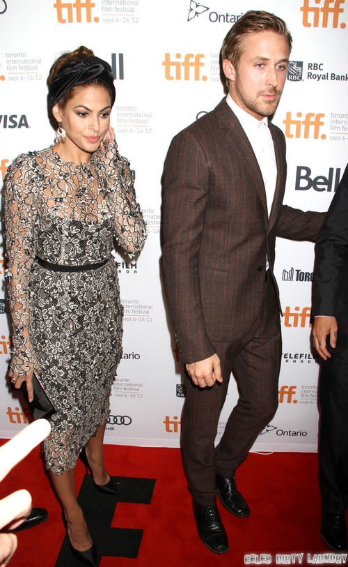 Ryan Gosling And Eva Mendes Fighting Over Eva's Insatiable Sexual Appetite?
