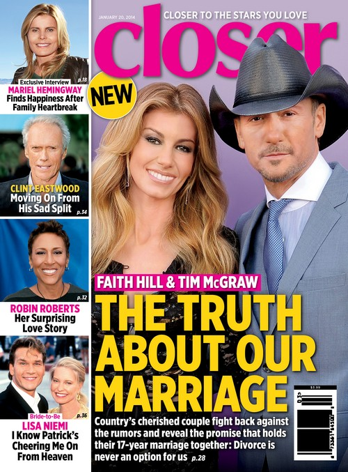 Faith Hill And Tim McGraw Divorce Plans Revealed - The Truth About Their Marriage (PHOTO)