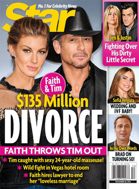 Faith Hill and Tim McGraw's Messy $135 Million Divorce Ensues: A Loveless Marriage Ends! (PHOTO)