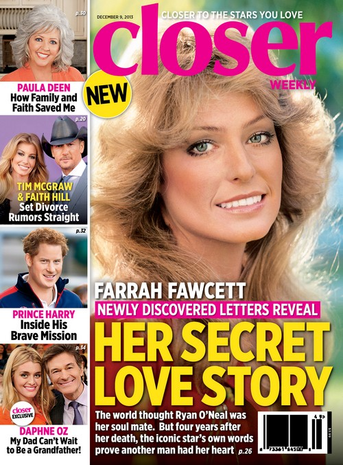 Farrah Fawcett Cheated on Ryan O'Neal With Secret Lover (PHOTO)