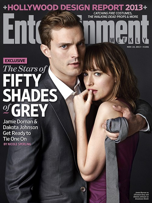 Fifty Shades Of Grey Stars Dakota Johnson And Jamie Dornan Cover Entertainment Weekly, Movie Gets New Release Date