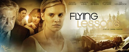 "Derek Magyar Debut Director: ""Flying Lessons"" With Maggie Grace and Hal Holbrook"