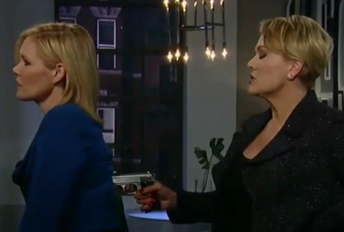 General Hospital Spoilers: Bomb At GH - Liv Lures Julian Into Trap - Griffin Addiction Out of Control - Liz Confronts Hayden