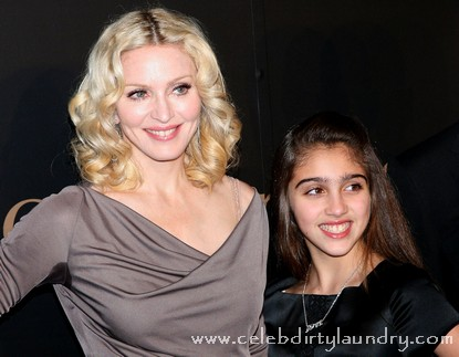 Madonna and daughter Lourdes Maria Ciccone Leon