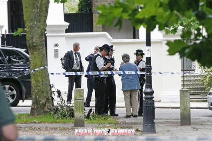 Police at Amy Winehouse's Place After Her Death - Photos