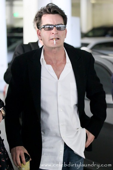 Charlie Sheen is attempting to trademark 22 of his own catch phrases, including the phrases 'Tiger Blood' and 'Duh, Winning', reports CBS News.  Charlie, who is currently on a tour of the U.S. and Canada, is seeking trademark protection for everything from drinks to electronic games.