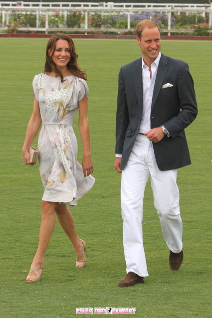 Prince William & Kate Middleton Host A Polo Challenge In California Today - Photos