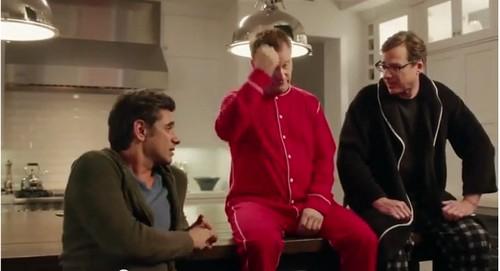 Super Bowl Full House Cast Commercial - Reunion for Dannon Oikos Yogurt (VIDEO)