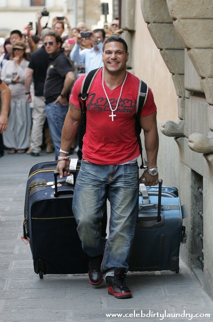 jersey shore italy house. #39;The Jersey Shore#39; cast arrive