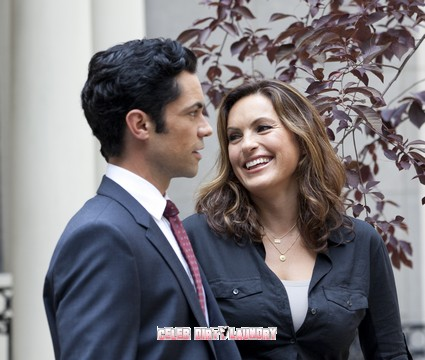 Mariska Hargitay & New Cast Member Danny Pino On The Set of 'Law & Order: SVU' - Photos