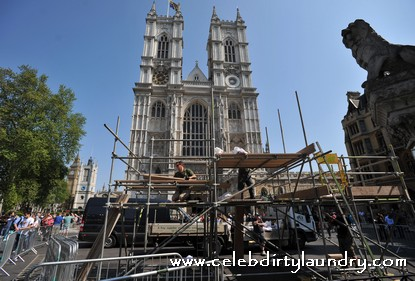 preparations are ongoing for the Royal Wedding
