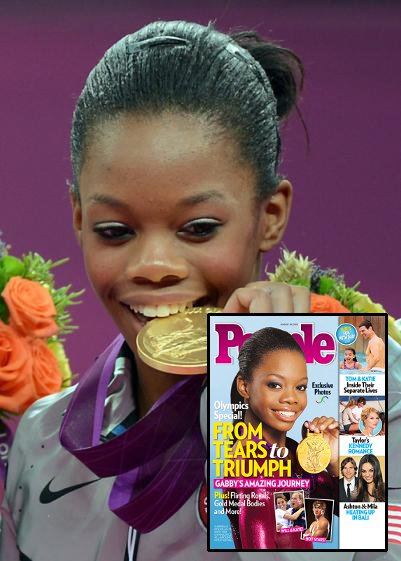 Outstanding U.S.A. Gymnast Gabby Douglas Endured Emotional Journey to Olympic Gold