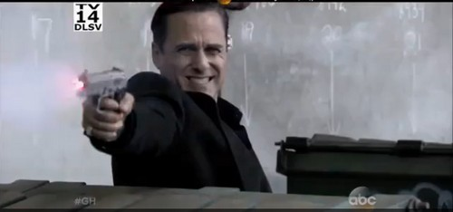 General Hospital Spoilers: Sonny in Shoot-Out with Fake Luke and Julian as Mob War Explodes (VIDEO)