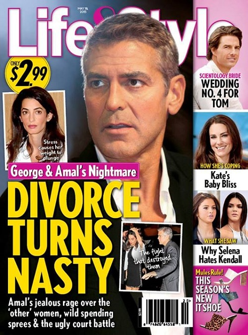 George Clooney Divorce: Amal Alamuddin Disgusted by ...