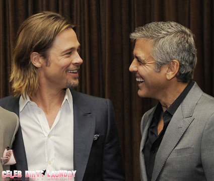 George Clooney, Brad Pitt, And Other Oscar Nominees Gather In Beverly Hills (Photos)