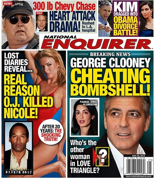 George Clooney Cheating On Amal Alamuddin Already - Love Triangle Exposed (PHOTO)