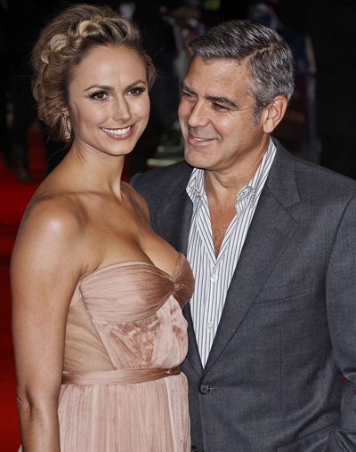 George Clooney Is Making Girlfriend Stacy Keibler A Very Rich Woman