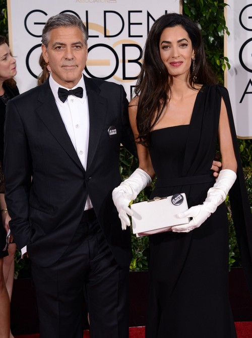 George Clooney Praises Wife Amal Alamuddin In Loving Speech At The Golden Globe Awards