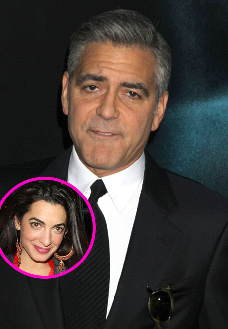 George Clooney Spotted with New Mystery Woman: Meet UK's Most Eligible Bachelorette Amal Alammudin! (PHOTO)