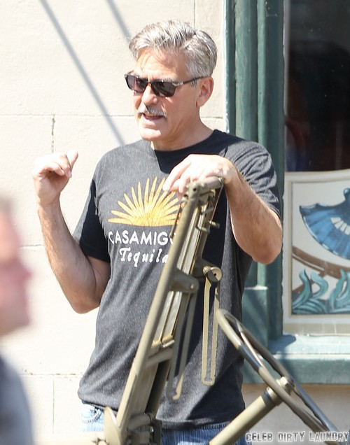 George Clooney Breaks Up With Stacey Keibler Because Of Her New Reality Show