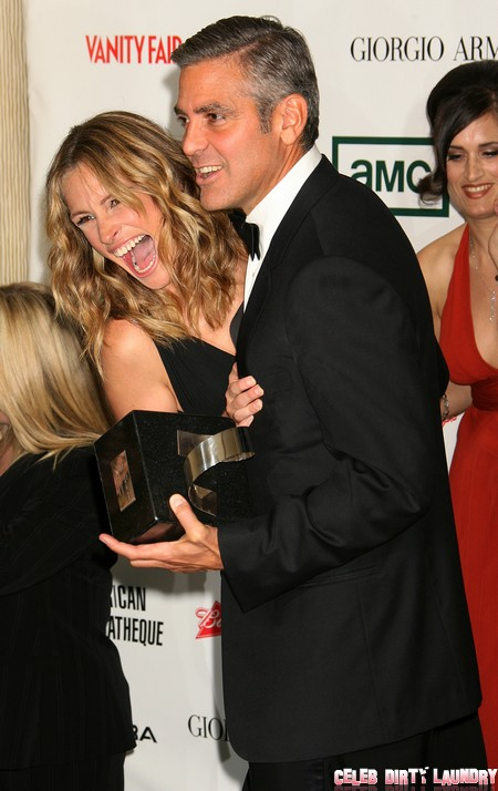 George Clooney And Stacy Keibler's Marriage Plans Saved By Julia Roberts