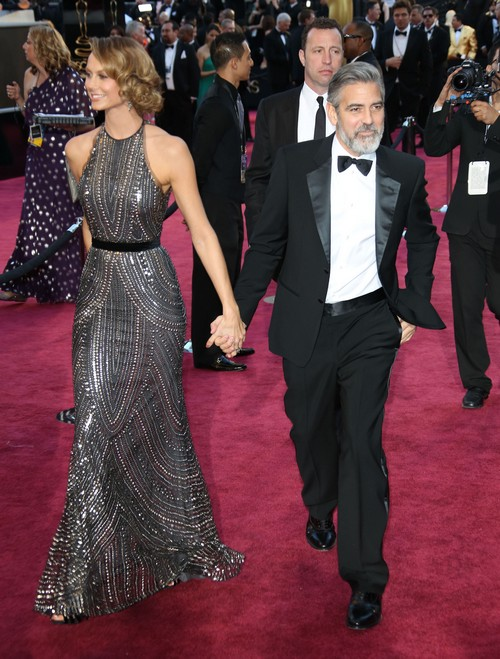 """George Clooney's Contract With Stacy Keibler Expired: Sources Lie That The Split Was """"Mutual"""""""