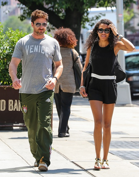 Gerard Butler Spotted On Date With Mystery Brunette In NYC - New Girlfriend? (PHOTOS)