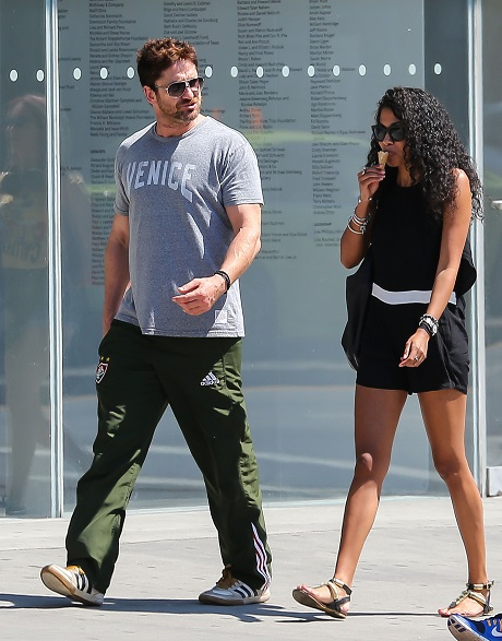 gerard butler new girlfriend 7 - Celebrity Dirty Laundry Soaps