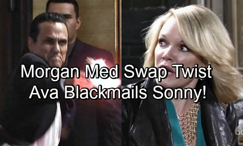 General Hospital Spoilers: Ava Devises New Morgan Pill Swap Strategy - Blackmails Sonny