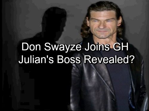 General Hospital Spoilers: Don Swayze Hired, Joins GH Cast – Julian's Boss Revealed?