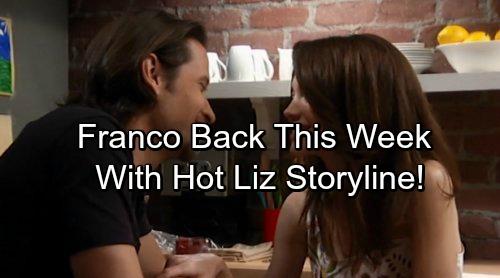 General Hospital Spoilers: Roger Howarth Returns as Franco Baldwin With Hot Liz Storyline
