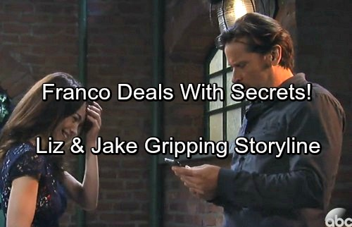 General Hospital Spoilers: Franco Deals with Pain as Secrets Unravel – Digs Deep for Gripping Storyline with Liz and Jake