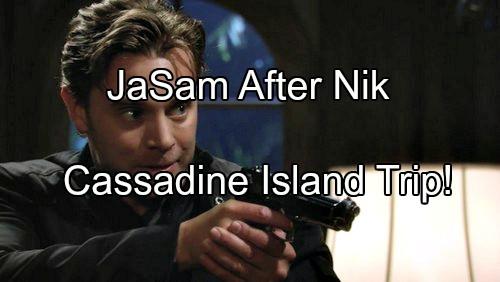 General Hospital (GH) Spoilers: JaSam Goes to Cassadine Island To Solve Nik Mystery – Discover Shocking Jake Secrets