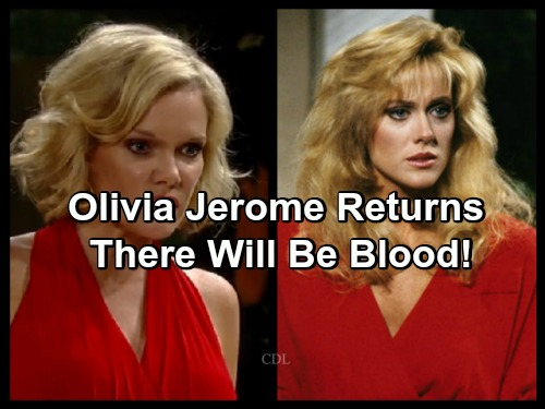 General Hospital Spoilers: Tonja Walker's Highly Anticipated Return as Olivia Jerome - GH Heats Up For Winter Sweeps
