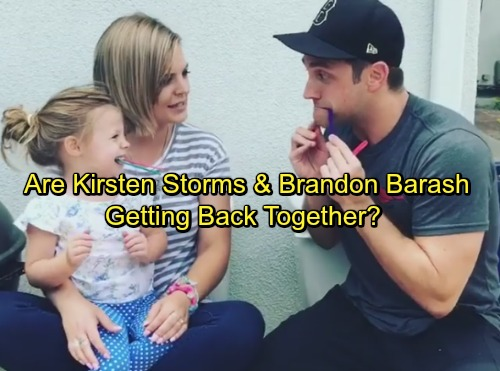 General Hospital Spoilers: Kirsten Storms and Brandon Barash Back Together for Fun Video – Reunion in the Works?