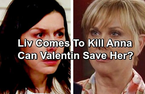 General Hospital Spoilers: Olivia Jerome Comes To Kill Anna - Valentin's Heroic Rescue