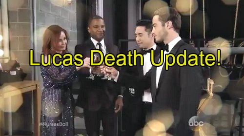 General Hospital (GH) Spoilers: Lucas Death Update - Nurse's Ball Wedding Interrupted by Medical Emergency, Tragedy Strikes