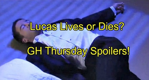 General Hospital (GH) Spoilers: Finn Tries to Save Lucas' Life - Body Found, Arrest Made - Dillon and Kiki Heat Up
