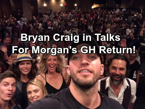General Hospital Spoilers: Morgan Returns For May Sweeps – Bryan Craig Reveals He's in Talks With GH