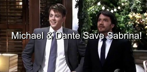 General Hospital (GH) Spoilers: Dante and Michael Team Up to Save Sabrina from Carlos