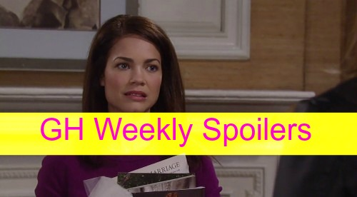 General Hospital (GH) Spoilers Weekly: Dante & Dillon Throw Down Over Lulu - Olivia Lies, Liz Panics and The Jackal Digs!