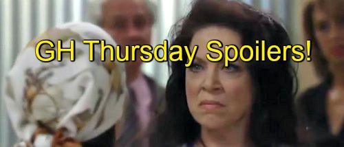General Hospital (GH) Spoilers: Tracy Fires Dr. O - Finn Packs His Bags - Sam Scared of Jason's Stalker