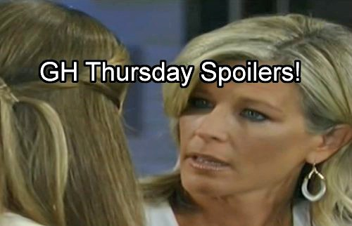 'General Hospital' Spoilers: Nelle Secretly Meets Carly - Jason Spills Happy News to Sonny – Jordan Grills Alexis